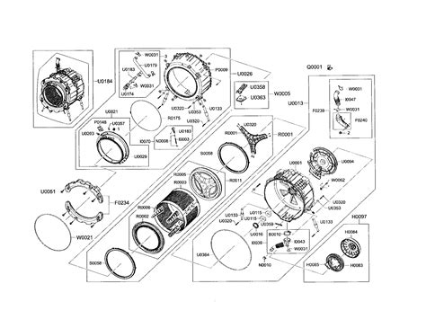 samsung front load washer parts diagram interesting samsung washer parts diagram ideas best