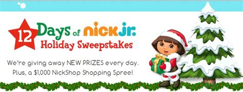 Nick Sweepstakes - the 12 days of nick jr holiday sweepstakes mumblebee inc mumblebee inc