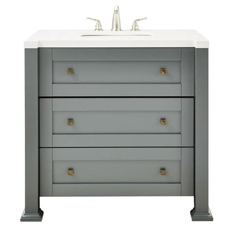 home decorators vanity home decorators collection greenwich 36 in w single