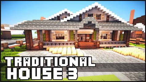 Tiny Homes Interior Designs minecraft traditional house 3 youtube