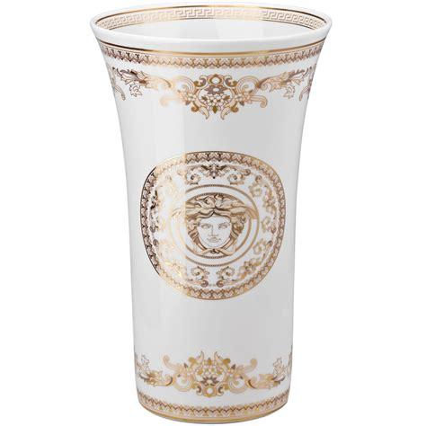 vaso versace versace medusa gala vaso 34 cm shop porcellana