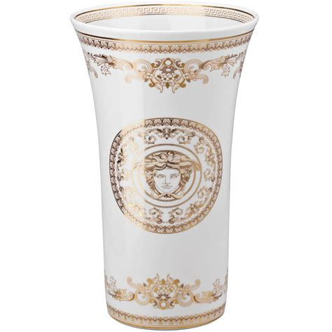 versace vasi versace medusa gala vase 34 cm rosenthal porcelain