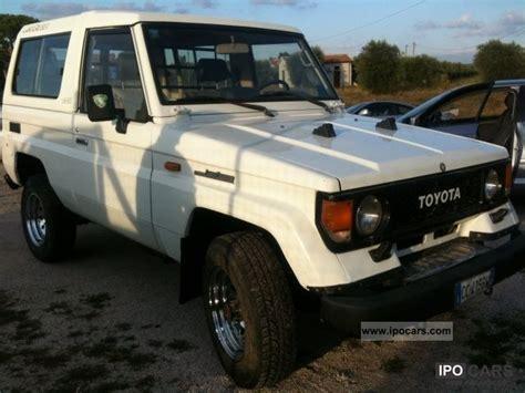Toyota Landcruiser Ii 1989 Toyota Land Cruiser Ii 2 4 Turbodiesel Sw Lj73 Lx