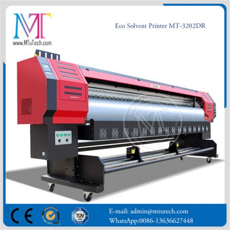 Outdoor Sticker Printer Machine by China Eco Solvent Printer Flex Printing Machine Indoor And