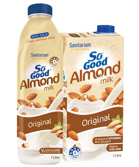 Original Source Almond And Coconut Shoo by So Unsweetened Almond Milk Nutrition Facts Besto