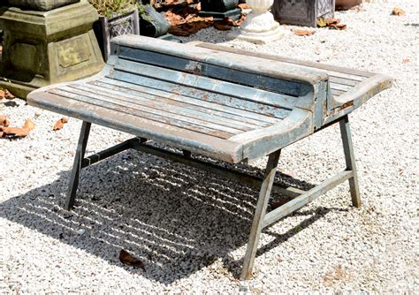 antique park bench antique french park bench at 1stdibs