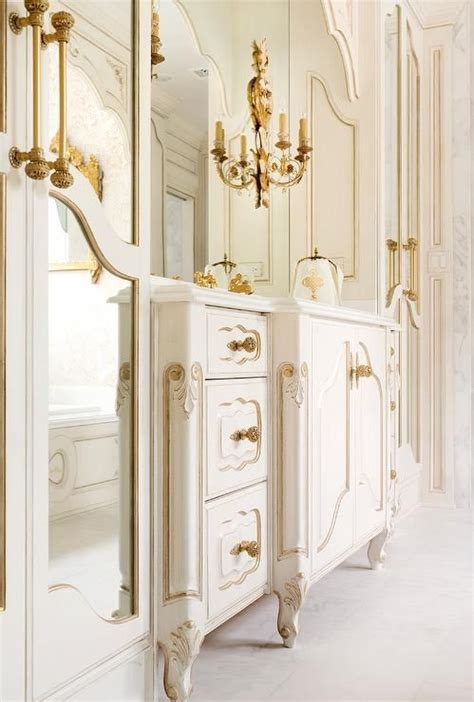 french gold cabinet hardware white and gold french bathroom features a white french