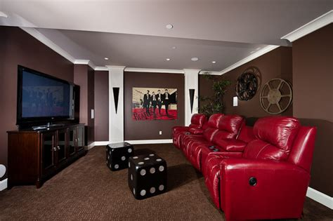 Living Room Theater Vancouver by Theatre Room