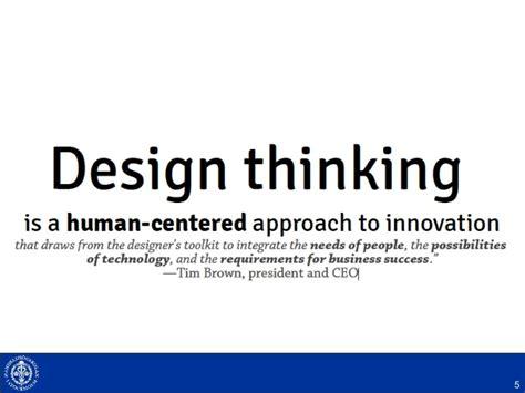 Design Thinking Mba Programs design thinking for exec mba
