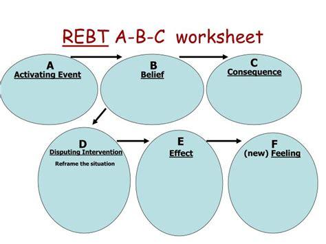 Rebt Worksheets by Ppt Rebt A B C Worksheet Powerpoint Presentation Id 640874