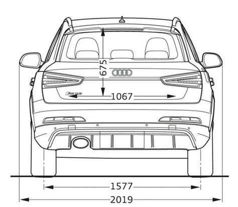 L Nge Audi A3 Sportback by Audi Q3 Abmessungen Abmessungen Q3 Facelift Q3 Facelift
