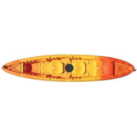west marine abaco 13 5 tandem sit on top kayak orange