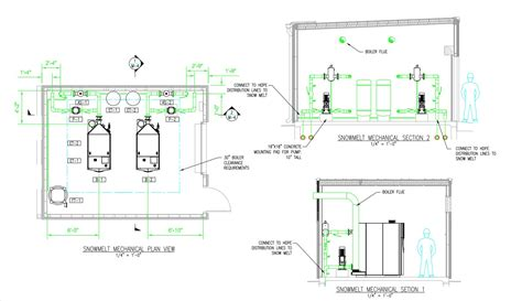 mechanical layout drawing definition technical radiant plans