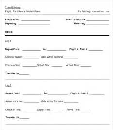 itinerary template cruise itinerary template 3 free word excel pdf