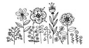 My Flower Doodles Were Recently Made Into Vinyl Decals To Decorate sketch template