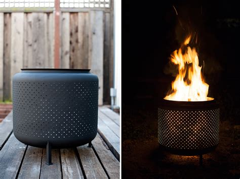 Washing Machine Firepit Transform An Washer Drum Into An Outdoor Pit Appliance
