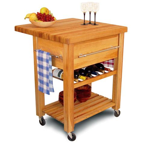 kitchen islands with wine rack kitchen carts catskill baby grand workcenter butcher