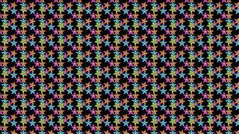 Flashy Emo Stars Desktop Wallpaper