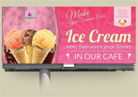 design banner ice cream ice cream advertising bundle vol 3 by owpictures
