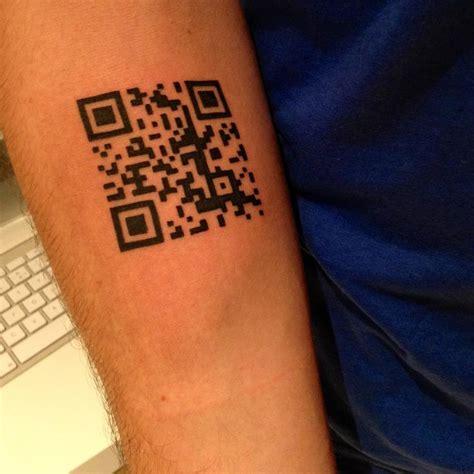 qr code tattoo qr code qr code voorbeelden