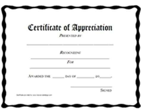 free printable certificate of appreciation templates free printable certificates of appreciation awards templates