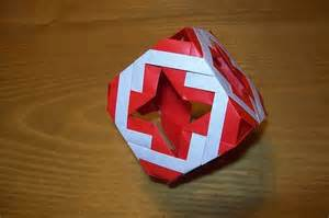 How To Fold Origami Cube - cube folding origami 171 embroidery origami