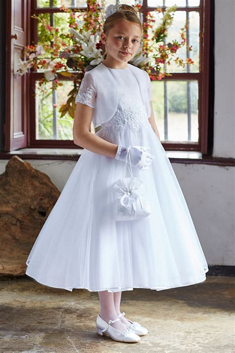 isabella style  beaded lace  communion dress