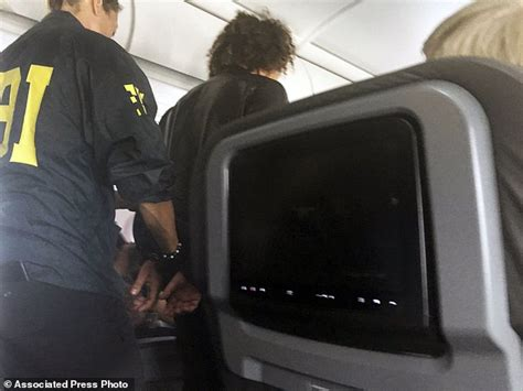 Flight Attendant Criminal Record Fbi Passenger Appeared Intoxicated Needed Help Onto Plane Daily Mail