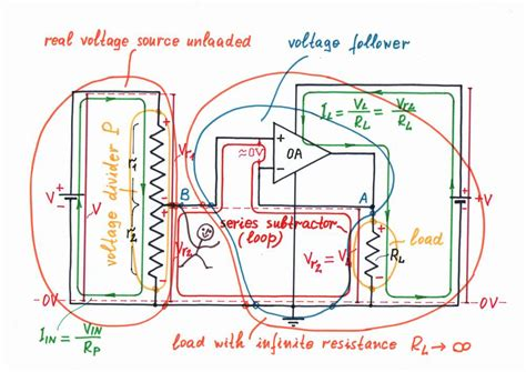 op load resistor how to compensate resistive losses by parallel connected negative resistor