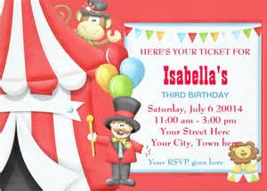 Carnival Themed Invitations Templates Free by 23 Carnival Birthday Invitations Free Psd Vector Eps