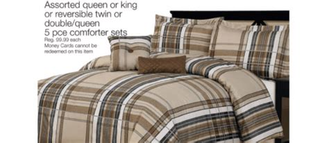 Home Outfitters Bedding Sets Home Outfitters Daily Deal 5pc Comforter Set 29 99 Canadian Freebies Coupons Deals