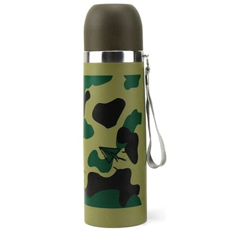 Botol Stainless 500 Ml Yll 2 botol thermos camouflage stainless steel 500ml