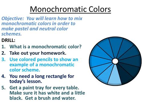 what is monochromatic color definition of monochromatic color scheme design decoration