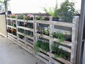 Garden Fence Planters by Upcycled Pallet Projects School Garden
