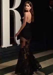 Emily Ratajkowski Vanity Fair Oscar 2016 Emily Ratajkowski 2016 Vanity Fair Oscar In