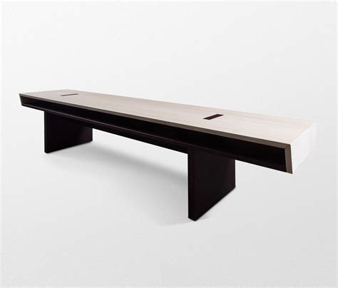double bench double bench without backrest benches from trentino wood design architonic