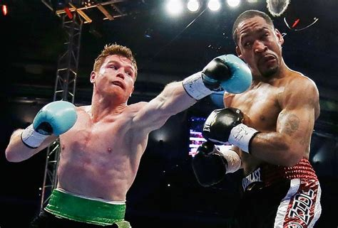 Kaos Canelo Alvarez With Flag Boxing 2015 knockout of the yearthe fight city