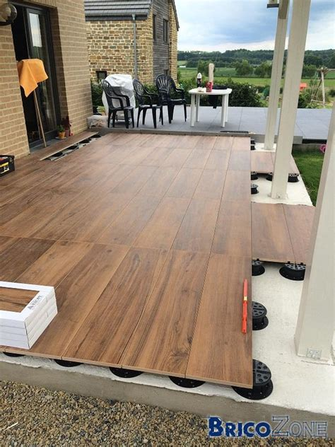 Carrelage Exterieur Sur Plot by Terrasse Carrelage Sur Plots