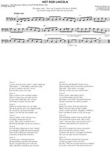 rod lincoln lyrics asleep at the wheel rod lincoln lyrics