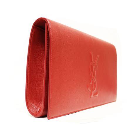 Inge Patent Leather Clutch by Ysl George V Clutch