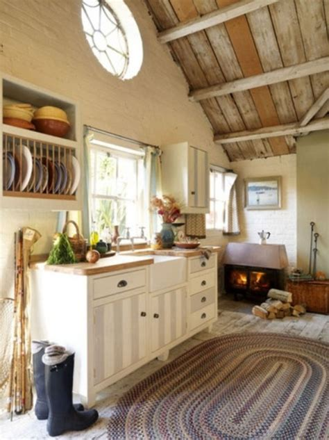 cozy kitchens 38 super cozy and charming cottage kitchens digsdigs