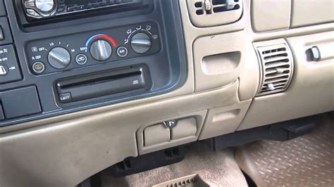 chevy  pickup heater problem youtube