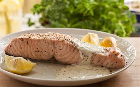poached salmon recipes slow cooker poached salmon recipe chowhound