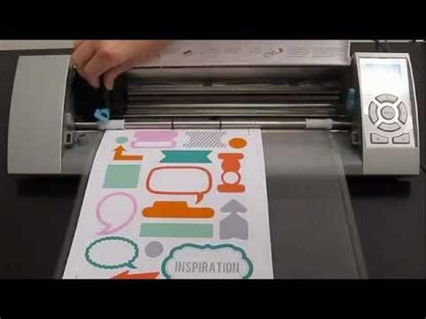 How To Make A Sticker Out Of Paper - silhouette america printable white sticker paper