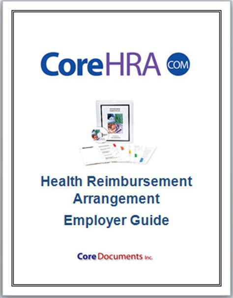 section 105 medical reimbursement plan irs hra plan documents for 299 with free hra software core
