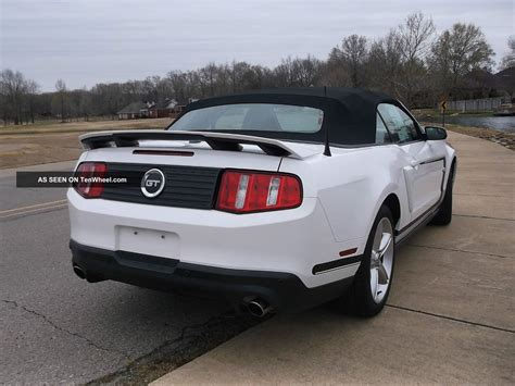 2012 ford mustang gt premium convertible 6 speed manual transmission photo 58159961 gtcarlot com 2012 ford mustang gt convertible premium 2 door 5 0l nascar pace car 6 speed