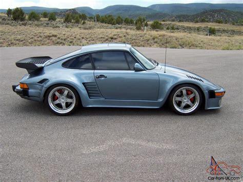 porsche slant 1984 dp 1 porsche 911 slant nose m491 turbo look option