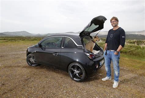 Opel Adam Tuning Aufkleber by J 252 Rgen Klopp Genie 223 T Den Opel Adam Auf Sylt Magazin