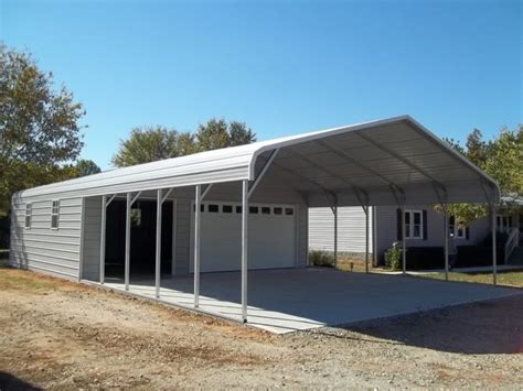 Cheap Metal Garages by Single Slope Carport Plans Cheap Metal Carports Lean To