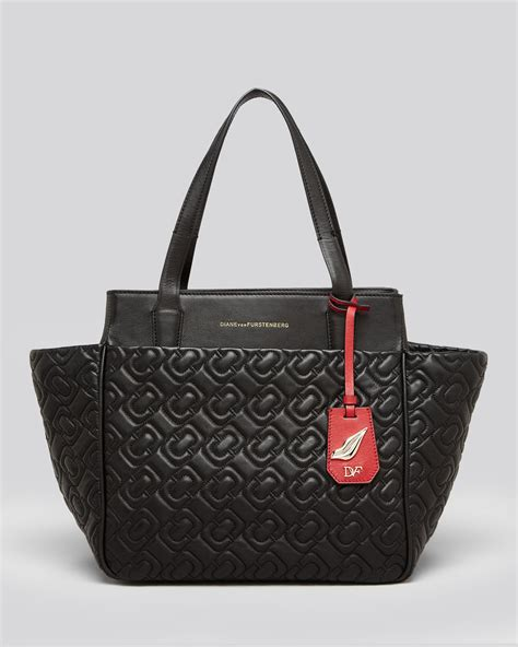Diane Furstenberg Cork Tote by Diane Furstenberg Tote On The Go Chainlink Quilted In